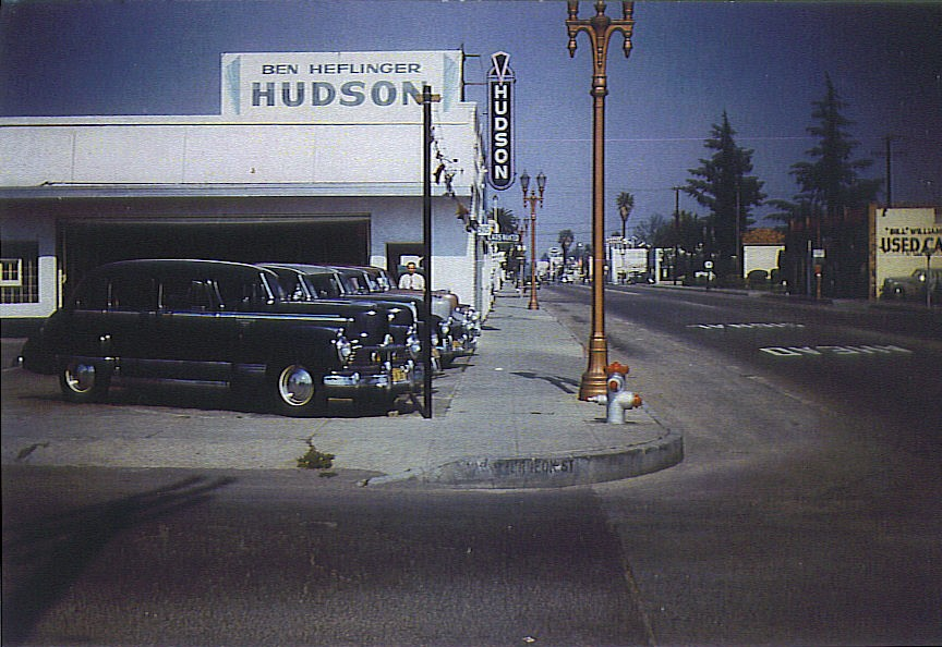 Hudson Motor Car Company Dealerships A C