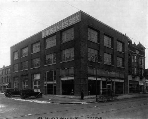 O hudson motor car company dealerships Adams street motors