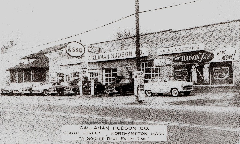 Hudson motor car company dealerships m for Central motors norwood ma