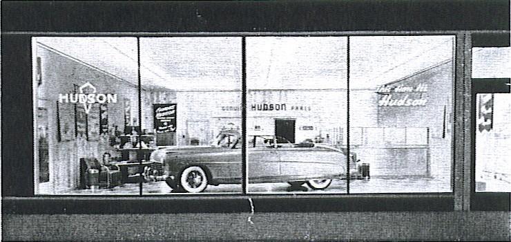 hudson motor car company dealerships p z. Black Bedroom Furniture Sets. Home Design Ideas