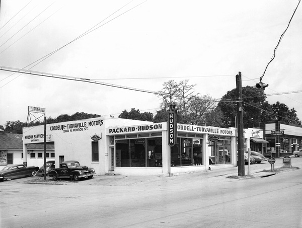 Hudson Motor Car Company Dealerships D L