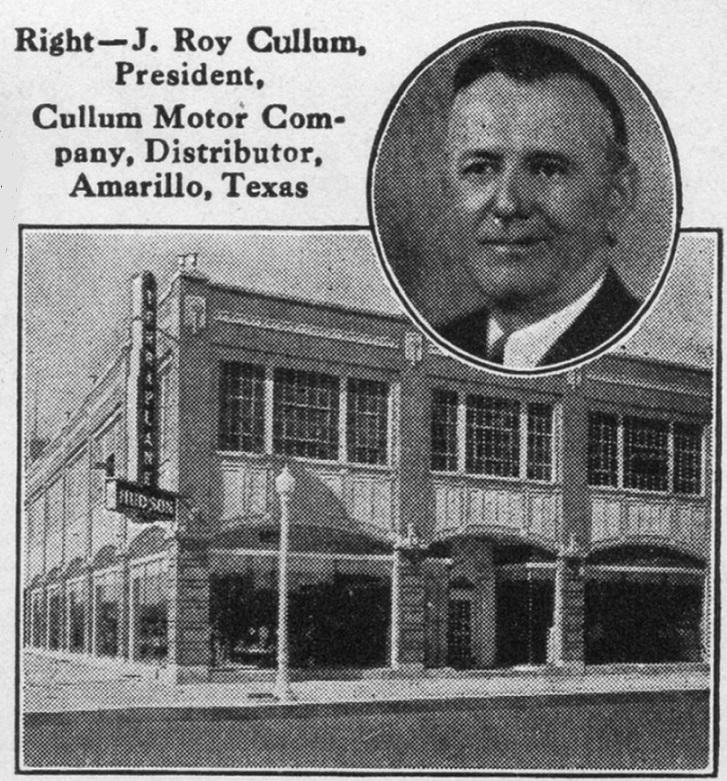 Dealerships In Amarillo Tx >> Hudson Motor car Company Dealerships P-Z
