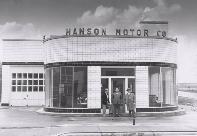 Hudson motor car company dealerships d l for Hanson motors service department