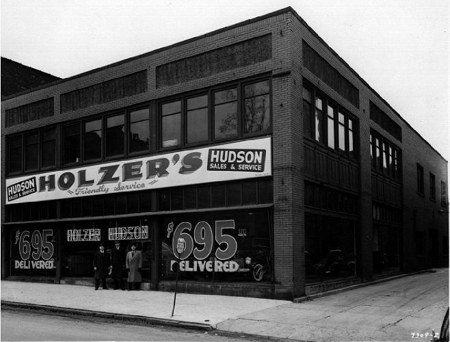 O hudson motor car company dealerships for H s motors swanton ohio