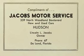 Jacobs Motor Service