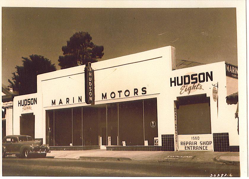 Car Dealerships In Fresno Ca >> Hudson Motor Car Company Dealerships A-C
