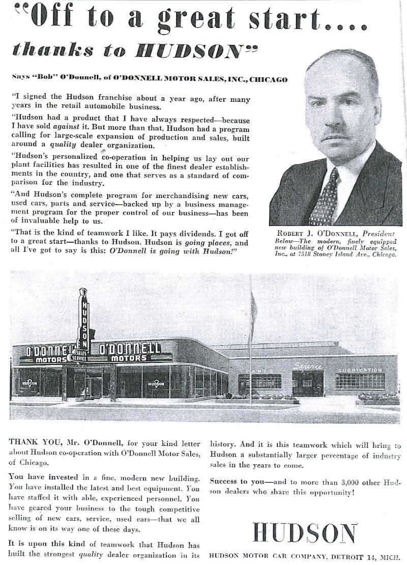 O'Donnell Motor Sales, Inc.