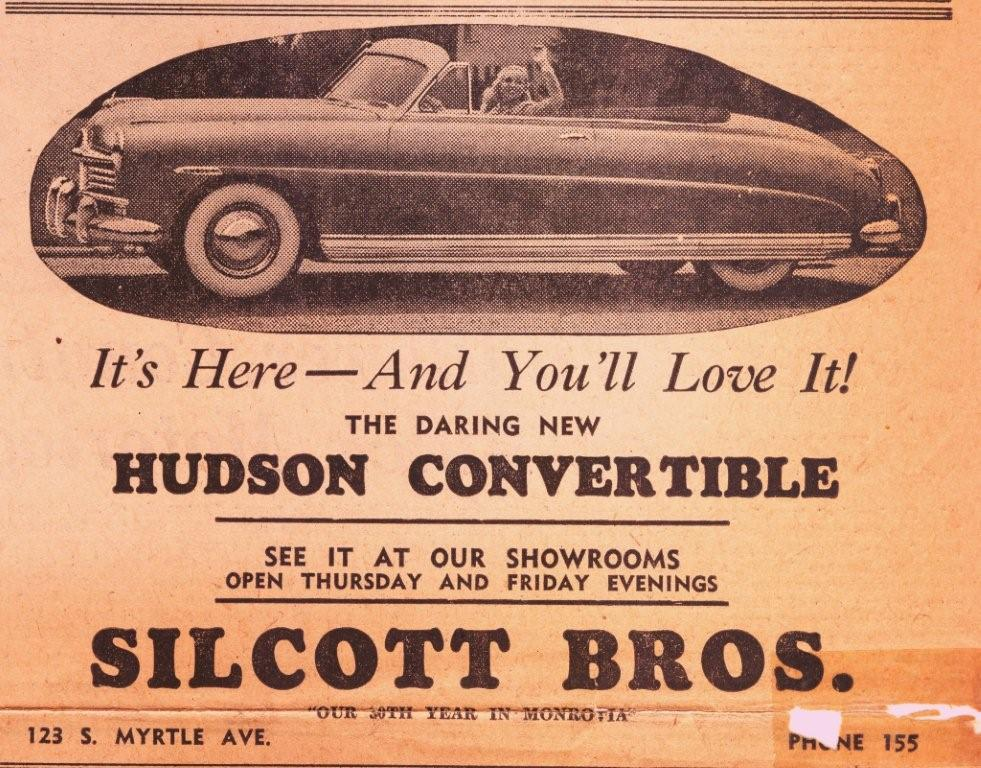 Car Dealerships In Fresno Ca >> Hudson Motor Car Company Dealerships A-C