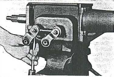 Figure 7 - Drive taper pins out.