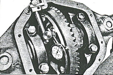 Figure 4 - Mount a dial indicator.