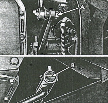 Figure 4 - Steering Gear Removal
